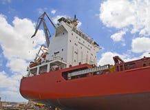 De controletoren van het schip Stock Afbeeldingen
