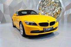 De convertibele auto van BMW Z4 Stock Afbeeldingen