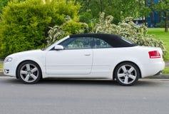 De convertibile auto van de luxe Royalty-vrije Stock Afbeeldingen