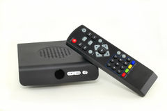 De convertordoos van TV Stock Afbeelding
