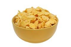 De cornflakes sluiten omhoog Stock Foto's