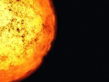 De corona van de zon. Vector Illustratie