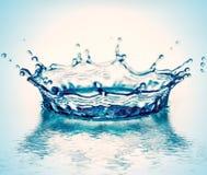 De corona van het water Royalty-vrije Stock Afbeeldingen