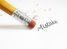 De correção de erros Imagem de Stock