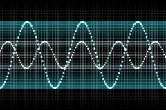 De correcte Muziek van het Ritme van de Equaliser slaat stock illustratie