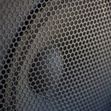 De correcte textuur van de Sprekersgrill Stock Foto
