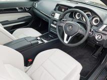De Coupé 2016 Binnenland van Mercedes-Benz euro 250 Royalty-vrije Stock Foto's