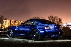 De Coupé van BMW Z4 stock foto's