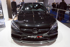 2015 de Coupé van Brabus Mercedes-AMG C63 Stock Foto