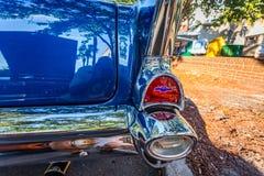 1957 de Coupé van Chevrolet BelAir royalty-vrije stock foto's