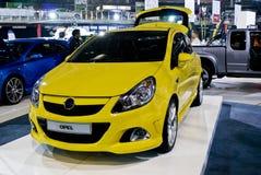 De Coupé van Corsa van Opel - Voorzijde - MPU stock foto