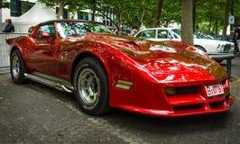 De coupé van de het Korvetc3 Pijlstaartrog van sportwagenchevrolet Stock Foto's