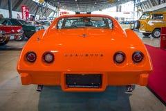 De Coupé van de het Korvetpijlstaartrog van sportwagenchevrolet C3, 1975 Royalty-vrije Stock Foto's