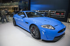 De Coupé van de Jaguar van de Première van de wereld xkr-S2 stock afbeeldingen