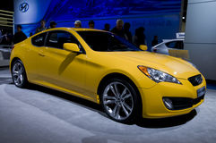 De Coupé van het Ontstaan van Hyundai stock fotografie