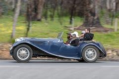 1940 de coupé van Jaguar SS Drophead Stock Afbeelding