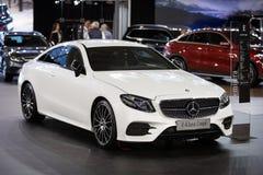 De Coupé van Mercedes E Klasa Stock Afbeelding