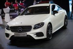 De Coupé van Mercedes E Klasa Stock Foto's