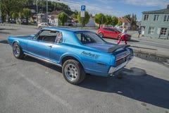 1968 de Coupé van Mercury Cougar XR7 Royalty-vrije Stock Afbeeldingen