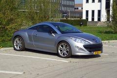 De coupé van Peugeot rcz stock foto