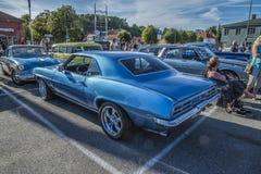 1969 de Coupé van Pontiac Firebird Stock Foto's