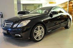 De Coupé van Mercedes-Benz E550 Royalty-vrije Stock Foto's
