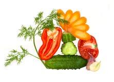 De couper légumes décoratifs Photographie stock