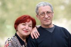 aîné de couples Photo stock