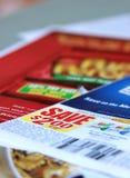 De coupons van de besparing Royalty-vrije Stock Fotografie