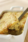 De courgette bakt stock afbeelding