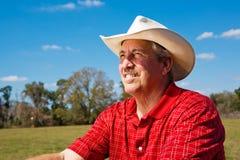 De cowboy kijkt aan Toekomst royalty-vrije stock foto