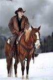 De Cowboy Way Stock Afbeeldingen