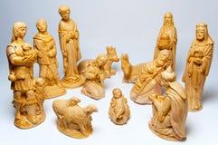 De Crèche van Kerstmis Royalty-vrije Stock Afbeeldingen
