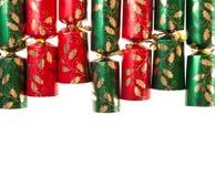 De Cracker van Kerstmis Stock Foto's
