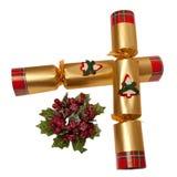 De Cracker van Kerstmis Stock Afbeelding