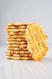 De Crackers van de kaaskarwij Stock Foto