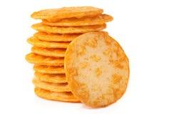 De crackers van de rijst. Royalty-vrije Stock Foto