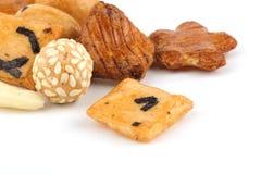 De crackers van de rijst royalty-vrije stock foto's