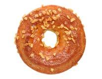 De crackers van de roomsandwich, doughnut Stock Foto