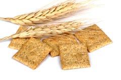 De Crackers van de tarwe Royalty-vrije Stock Afbeelding