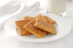 De crackers van Graham stock foto's