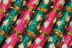 De crackers van Kerstmis royalty-vrije stock fotografie