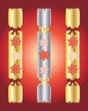 De crackers van Kerstmis royalty-vrije illustratie