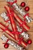 De Crackers van Kerstmis Royalty-vrije Stock Foto's
