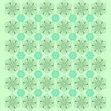 De creatieve Achtergrond van het Bloempatroon - Vector vector illustratie