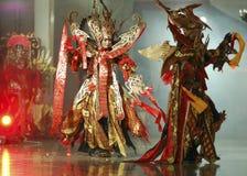 DE CREATIEVE BANEN VAN INDONESIË Stock Afbeeldingen
