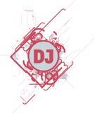De creatieve dekking van CD stock illustratie