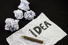 De creatieve ideeën hebben geen grenzen Royalty-vrije Stock Foto's