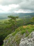 De Crimean bergen för regnet Fotografering för Bildbyråer