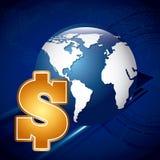 De crisis en de speculatie van de wereld Royalty-vrije Stock Fotografie